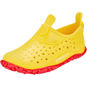 speedo Jelly WaterShoes Kinder empire yellow/lava red